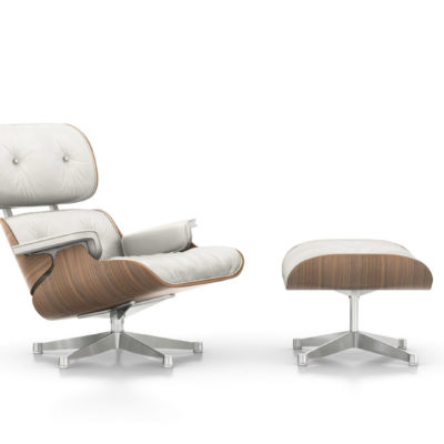 lounge chair weiss Vitra Charles & Ray Eames
