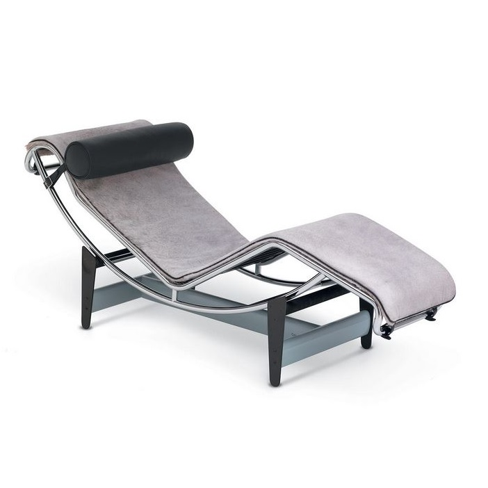 Chaise Longue LC4 Villa Church Le Corbusier Cassina